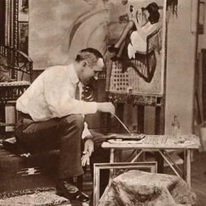 Alfons Karpiński,malarz - pisze Dr.Fr.Klein.