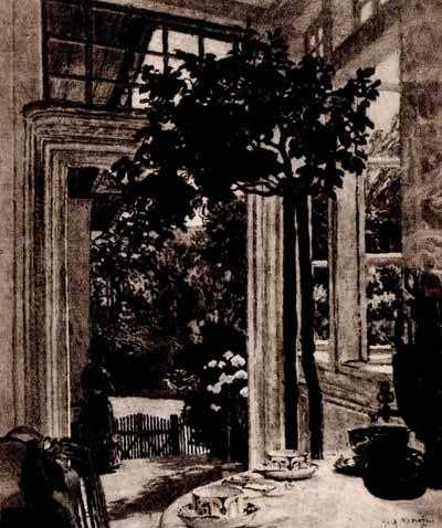 Józef Mehoffer - Majowe słońce 1910