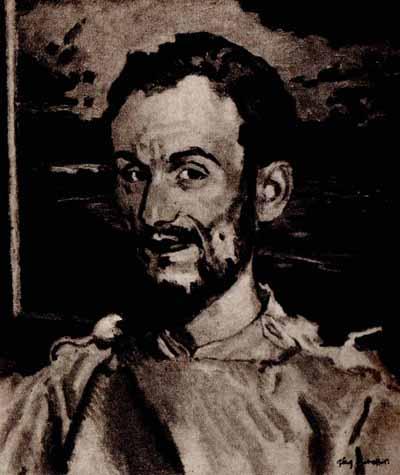 Józef Mehoffer Portret Jana Hoplińskiego