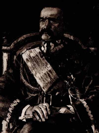 Józef Mehoffer Portret Naczelnika Państwa Marszałka J. Piłsudskiego 1921