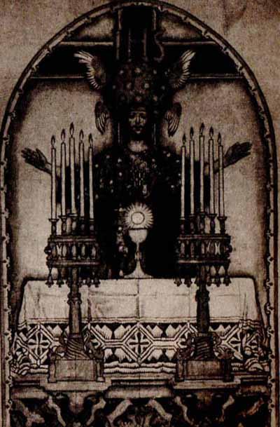 Józef Mehoffer Chrystus Król Dekoracja ścienna kościoła paraf jalnego w Turku 1933