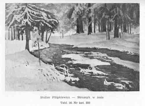 Filipkiewicz Stefan, Strumyk w lesie