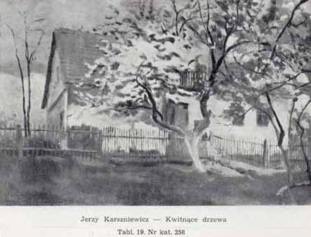 Karszniewicz Jerzy, Kwitnace drzewa