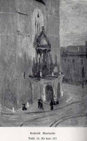 Stanisławski Jan, Kościół Mariacki