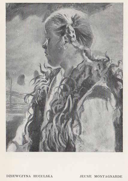 Kazimierz Sichulski Dziewczyna Huculska