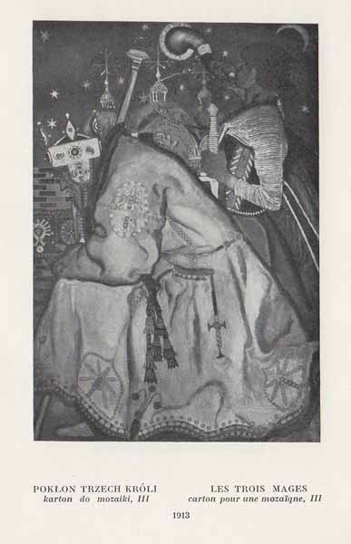 Kazimierz Sichulski Pokłon Trzech Króli III