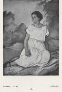 Kazimierz Sichulski Portret damy