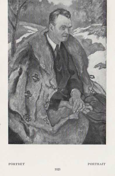 Kazimierz Sichulski Portret