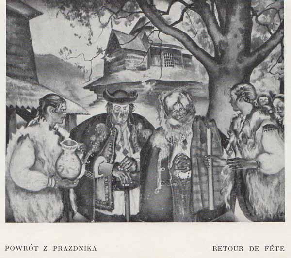 Kazimierz Sichulski Powrót z Prazdnika