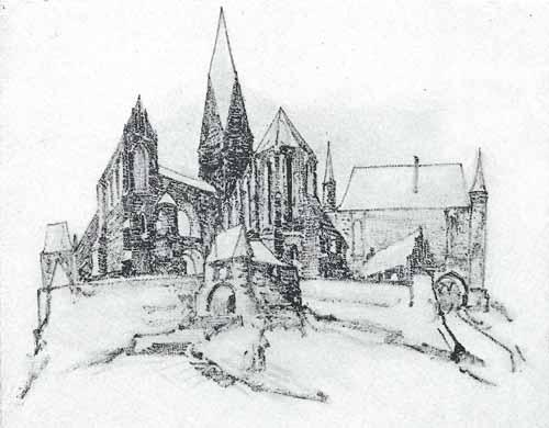 Noakowski Stanisław Miasto gotyckie