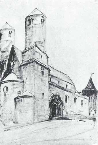 Noakowski Stanisław Kościół romański
