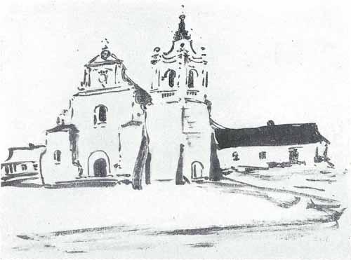 Noakowski Stanisław Kościół barokowy