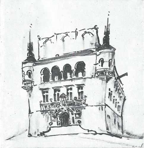 Noakowski Stanisław Ratusz renesansowy