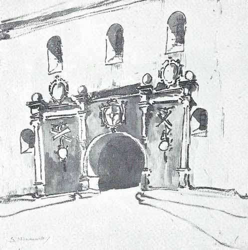 Noakowski Stanisław Wrota barokowe