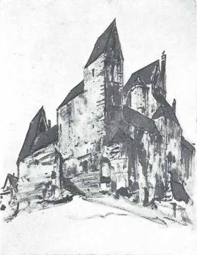 Noakowski Stanisław Zamczysko gotyckie