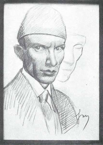 Jacek Mierzejewski Autoportret