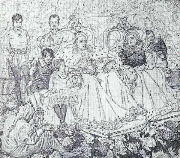 Jacek Mierzejewski Królewska rodzina