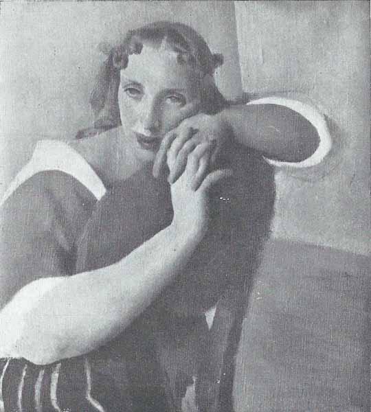 Jacek Mierzejewski Portret żony