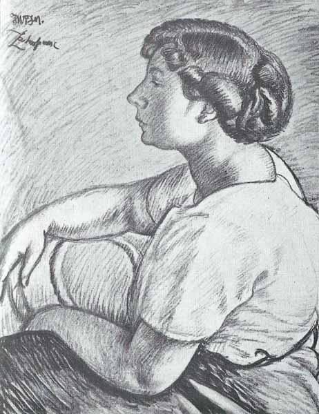Jacek Mierzejewski Portret P. H. Duninówny