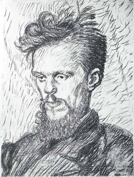 Jacek Mierzejewski Portret art. malarza Rożena